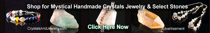 Reach Spirit with handmade mystical jewelry and crystals