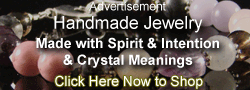 Feel good with handmade mystical jewelry and crystals